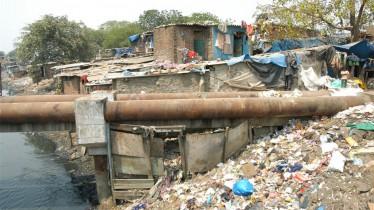 Les bidonvilles de Bombay