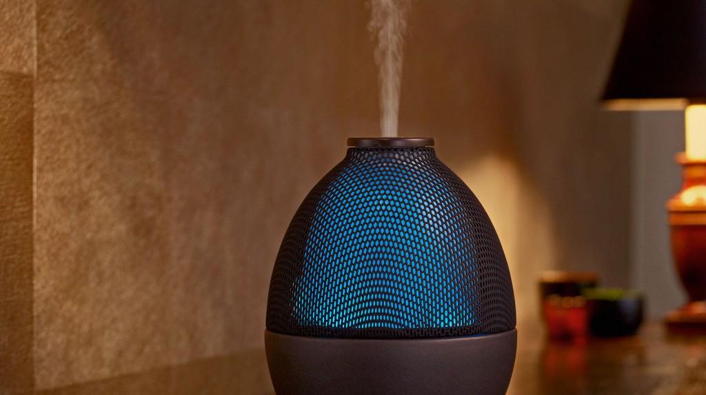<p>Tel un <strong>logo olfactif</strong>, Terre d'Aroma installe, dans les endroits stratégiques de votre entreprise, des <strong>diffuseurs</strong> dispersant votre fragrance.</p>